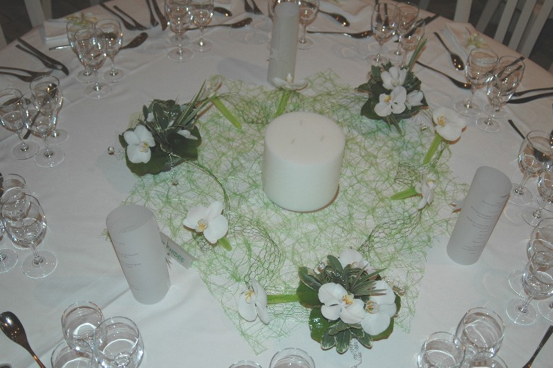 Mariage la d coration de la salle de r ception avec - Decoration maison pour mariage ...